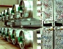 Ammonia refrigeration installation